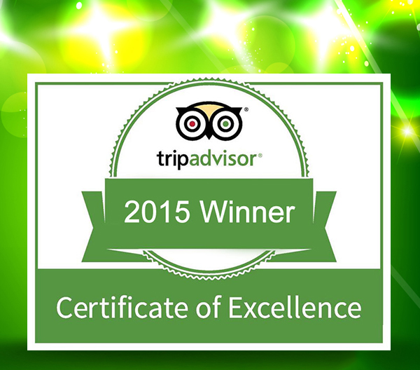 2015 winner Certificate of Excellence